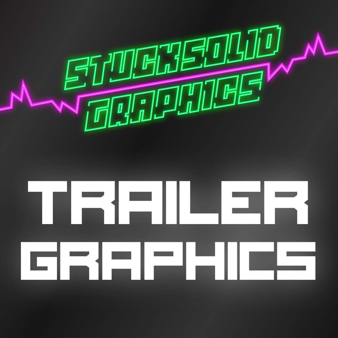Trailer lettering and graphics
